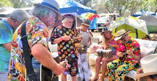 The Live Oak Music Festival draws an eclectic group of music lovers