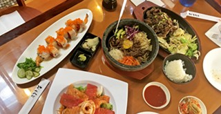 Fresh and fermented: Asian Bistro serves Japanese and Korean flavors on Higuera Street