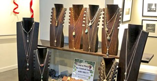 Studios on the Park's annual Handcrafted for the Holidays show features fine crafts for holiday shoppers, and benefits a good cause