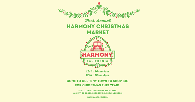 Spend a Day in Harmony Christmas Shopping