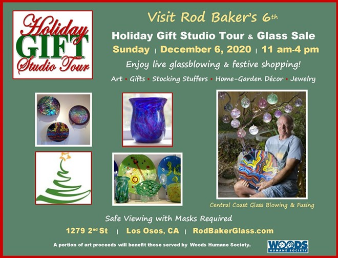 Get Lost in Rod Baker's Art Glass!