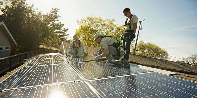 Join SunWork.org for solar training  and volunteer to help install affordable solar in the community.
