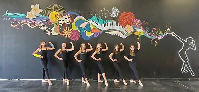 """ARTISTS AND ATHLETES """"The thing I love so much about dance is it is the marriage of athleticism and art. You can feed your body and soul with one beautiful activity,"""" FLEX's co-owner and artistic director Brianna Deveraux-Allen said."""