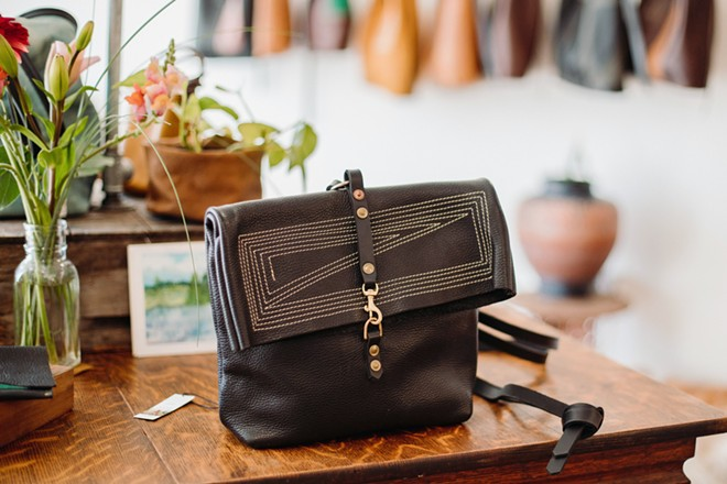 HEIRLOOM Designed to last, Emma Thieme's leather bags are made with high quality materials, hand-dyed leather, and an eye for detail.
