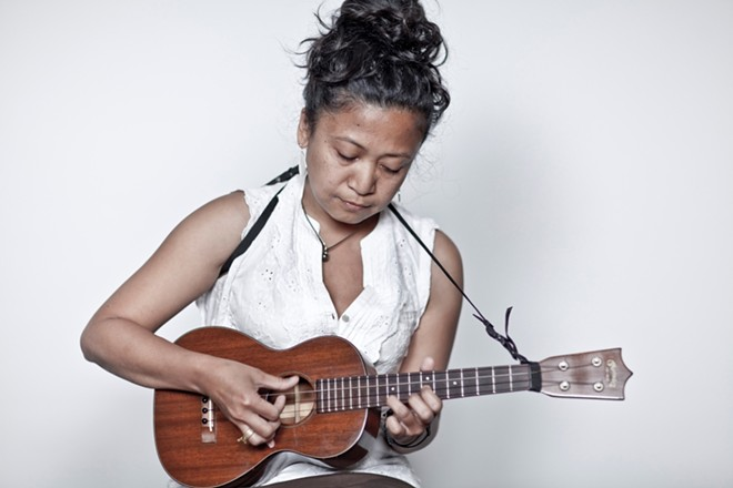 Aireene Espititu featured by Songwriters at Play at Sculpterra Winery