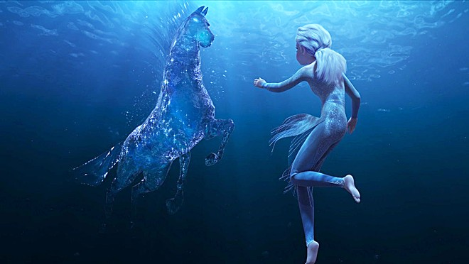 WATERHORSE ... AMAZING! Eye-popping animation made the film a visual delight.