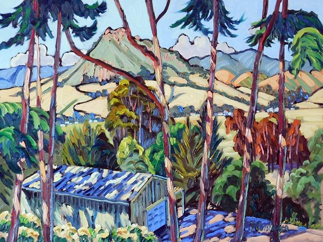 Through the Trees by Ken Christensen