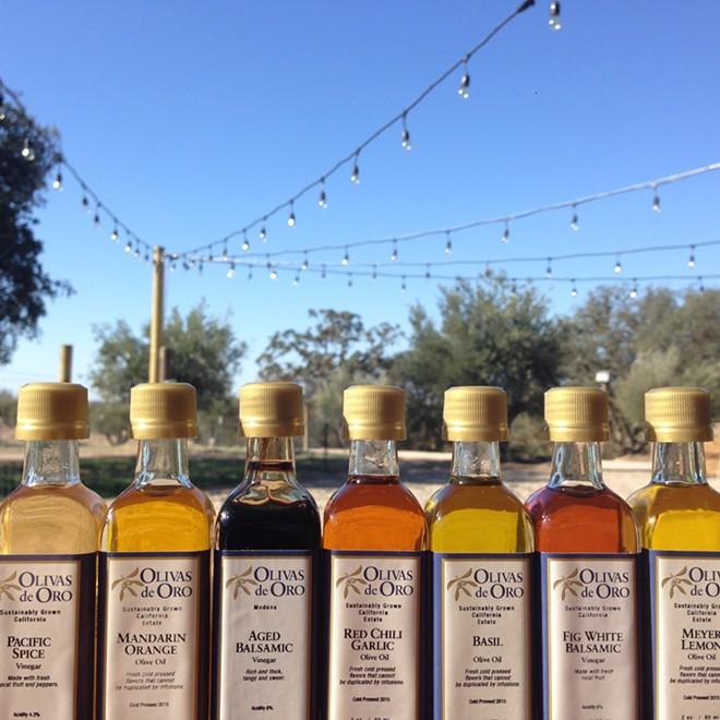 Award Winning Olive Oil and Vinegars