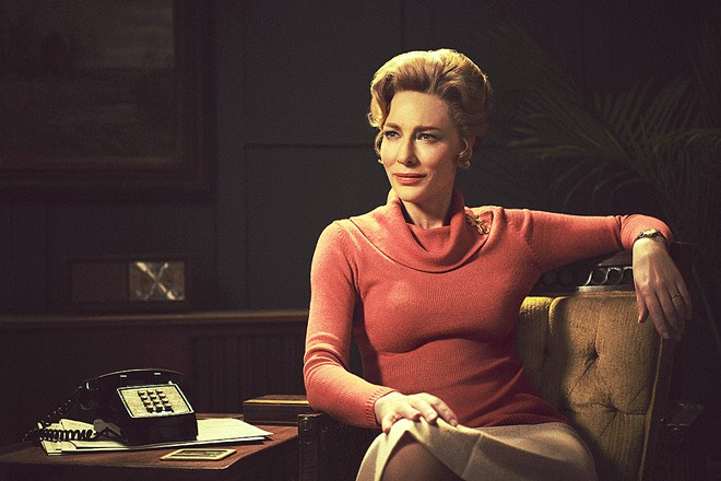 RIGHT V. LEFT In Mrs. America, conservative activist Phyllis Schlafly (Cate Blanchett) mounts a grassroots campaign to block the passage of the Equal Rights Amendment, which she believes will strip women of their special privileges.