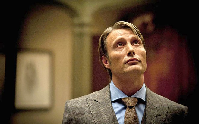 THE 'GOOD' DOCTOR Mads Mikkelsen stars as psychiatrist Dr. Hannibal Lecter, in the TV series Hannibal, on Hulu, about Lecter's patient, an FBI profiler who doesn't realize his therapist is a cannibal.