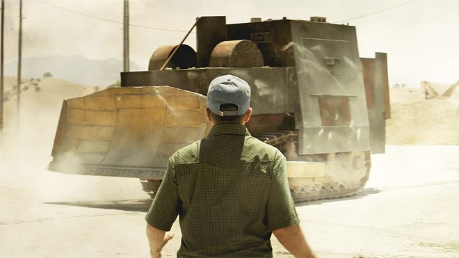 VIGILANTE INJUSTICE? Tread, a new documentary available on Netflix, explores a 2004 fortified-bulldozer rampage orchestrated by Marvin Heemeyer, a master welder who felt wronged by the movers and shakers in Granby, Colorado.