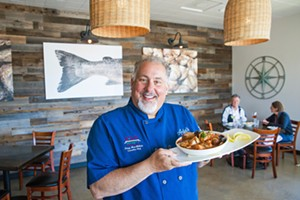 FRESH AND FABULOUS Chef/owner Doug MacMillan definitely put cioppino on the menu at Ada's Fish House in Pismo Beach, also know as the Best Seafood spot in SLO County. - PHOTO BY JAYSON MELLOM