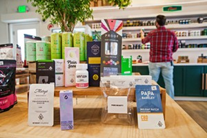 MOM Megan's Organic Market is a winner, winner, cannabis-infused dinner, nabbing Best New Company of 2020, Best Place to buy CBD, and Best Cannabis Dispensary in this year's Best Of San Luis Obispo County readers poll. - PHOTO BY JAYSON MELLOM