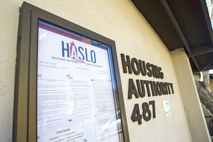 NEEDING AFFORDABILITY A draft SLO city housing plan drew criticism from the California Rural Legal Assistance for not adequately analyzing the needs of low-income residents. - FILE PHOTO BY JAYSON MELLOM
