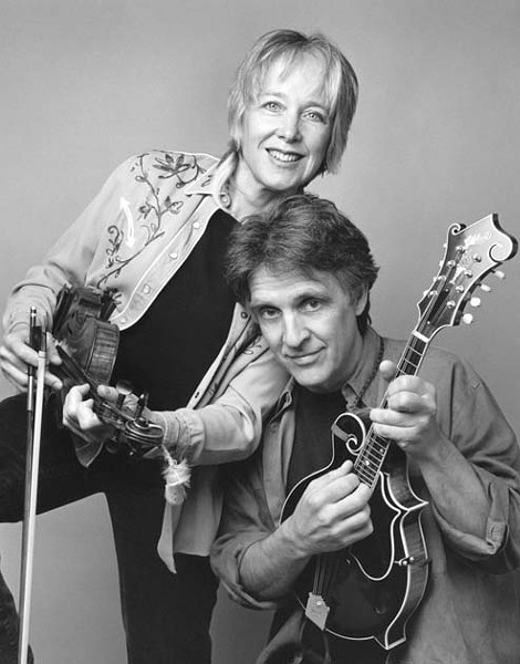 GROWING BLUEGRASS :  On Oct. 10, the Painted Sky Concert Series in association with The Yew Tree presents bluegrass and folk musicians Laurie Lewis and Tom Rozum. - PHOTO BY ANNE HAMERSKY