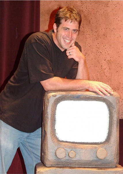 "PREHISTORIC PLAYER:  Cody Lyman (pictured) has been performing in ""Defending the Caveman"" for the past 10 years. - PHOTO COURTESY OF THEATER MOGUL"