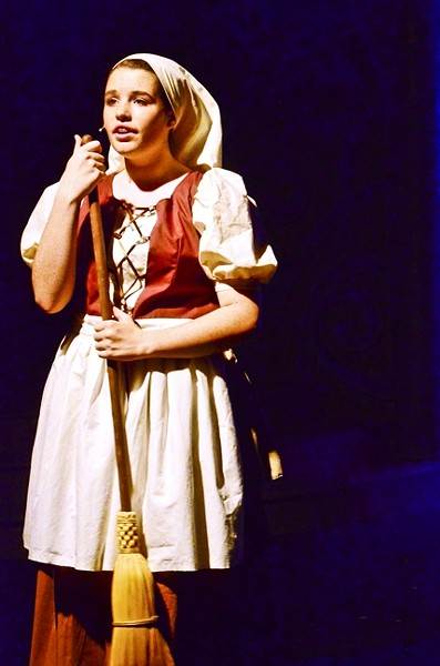 DREAM A LITTE DREAM:  Cinderella, played by Cali Singleton, dreams of a life of adventure instead of one of servitude and drudgery. - PHOTO COURTESY OF JAMIE FOSTER PHOTOGRAPHY