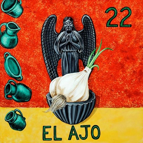 EL AJO :  By John Garcia y Robertson - IMAGE BY JOHN GARCIA Y ROBERTSON