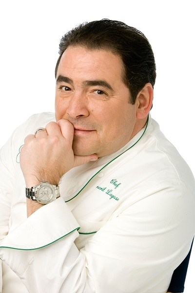 THE MAN :  Emeril Lagasse will prepare dinner at Hearst Castle and conduct a cooking demonstration at Dolphin Bay Resort. - PHOTO BY STEVEN FREEMAN