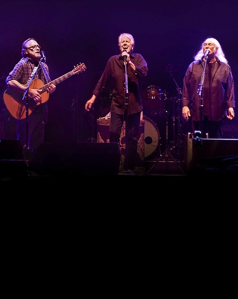 ON SALE APRIL 19TH! :  Tickets for Crosby, Stills, and Nash at the Vina Robles Amphitheatre go on sale at 10 a.m. on April 19 for their Sept. 30 show. - PHOTO BY CHRIS KISSINGER