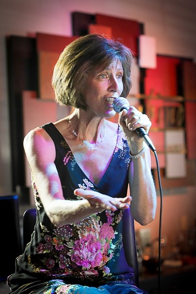 SONG BIRD!:  Exquisite genre-jumping vocalist Judy Philbin plays Feb. 2 at SLO's Unitarian Universalist Church and Feb. 15 at SLO's Unity Church. - PHOTO COURTESY OF JUDY PHILBIN