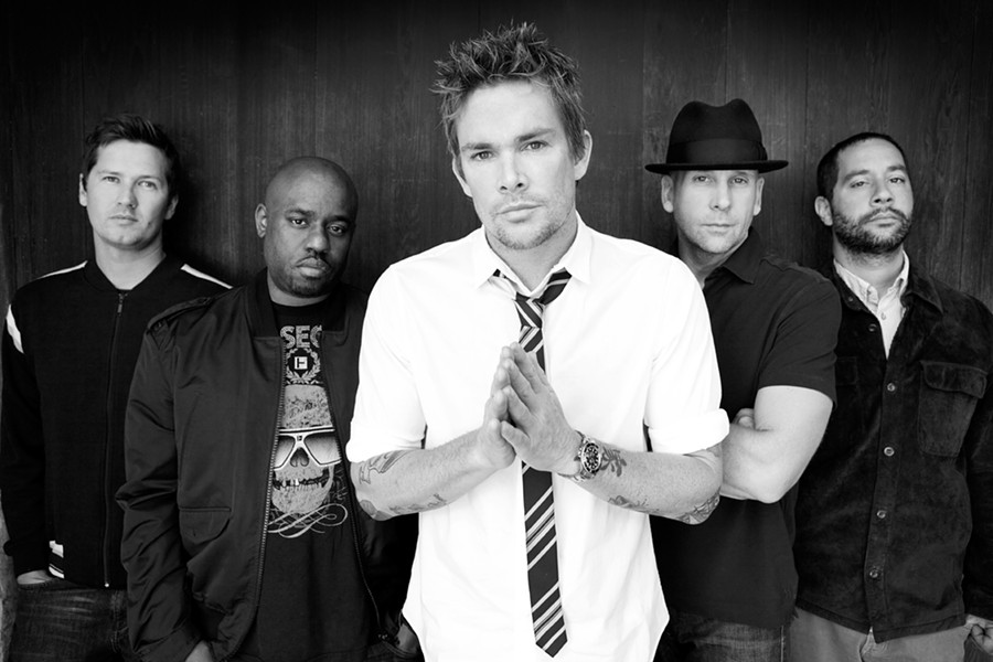 PRAY FOR RAY :  Pop punk darlings Sugar Ray hit Pozo Saloon on Sept. 19. - PHOTO COURTESY OF SUGAR RAY