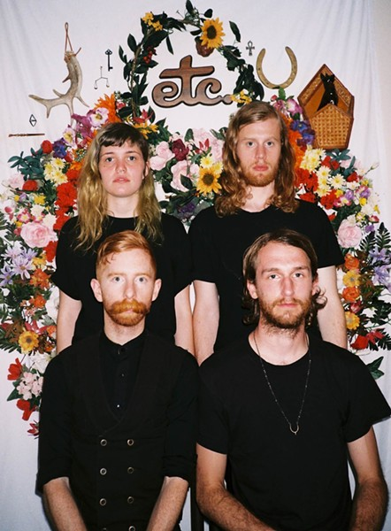 FOLKSY:  Saintseneca plays SLO Brew on April 3. - PHOTO COURTESY OF SAINTSENECA