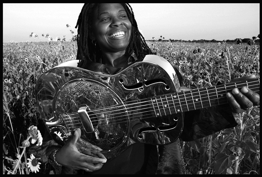 BLUES, BABY :  Great folk and blues performer Ruthie Foster plays Live Oak on June 15. - PHOTO COURTESY OF RUTHIE FOSTER