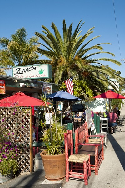 STOP BY :  A lot of curious first-timers who stopped by Zorro's in Shell Beach for the Tacorona happy hour special have become regulars. - PHOTO BY STEVE E. MILLER