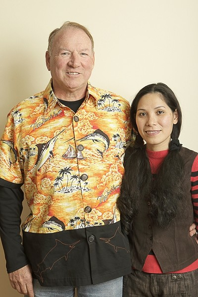 CRIMINALS? :  Richard and Phuong Etzler are still waiting for an explanation for why they were held at gun point by U.S. Customs and Border Protection officers. - PHOTO BY STEVE E. MILLER