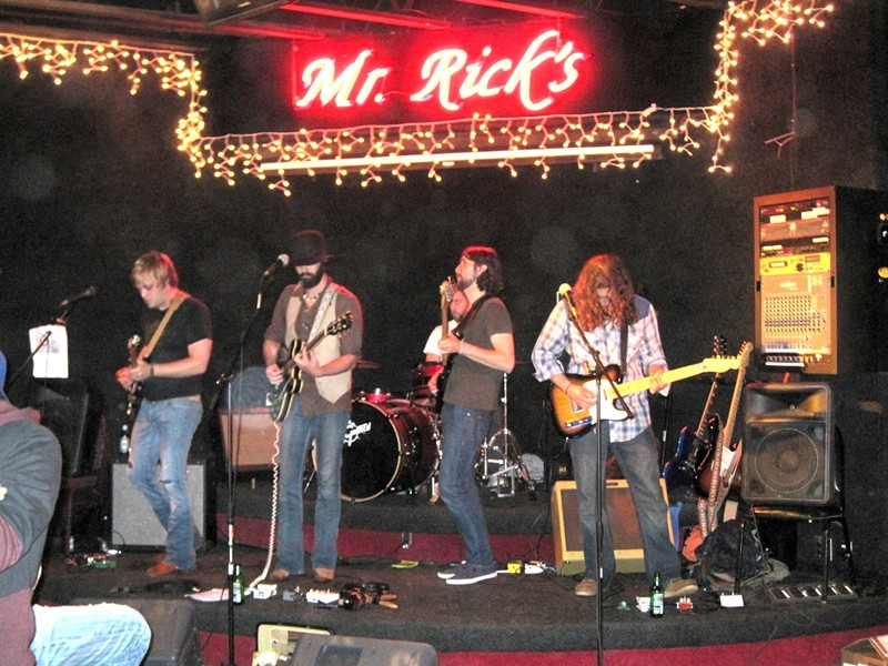 "COSMIC ROOTS! :  On May 7 at Mr. Rick's, check out The Muddy Reds, whose music ""pulls from front porch American roots, Stax-era soul, ghostly blues, and southern swamp jams."" - PHOTO COURTESY OF THE MUDDY REDS"