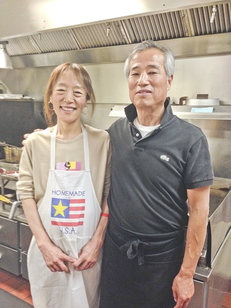 COURTROOM CUISINE:  Young Kim and Paula Yeo are the owners and operators of The Courthouse Café, a small restaurant within the San Luis Obispo County Superior Courthouse. - PHOTO BY RHYS HEYDEN