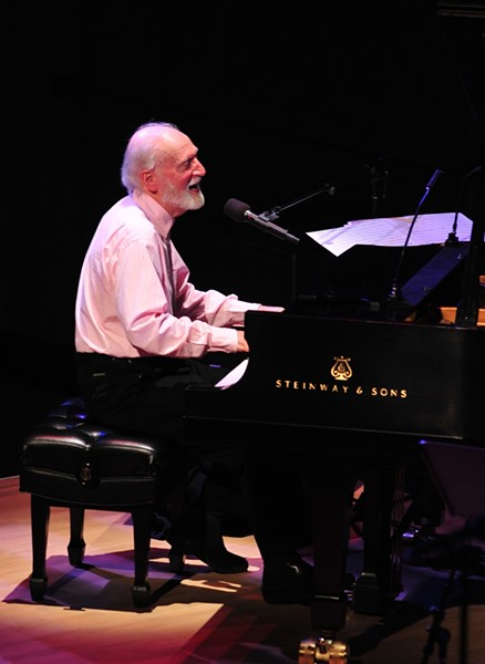 JAZZ/BLUES MASH-UP :  Seminal jazz and blues pianist Mose Allison plays Cal Poly's Spanos Theatre on April 2. - PHOTO COURTESY OF CAL POLY ARTS