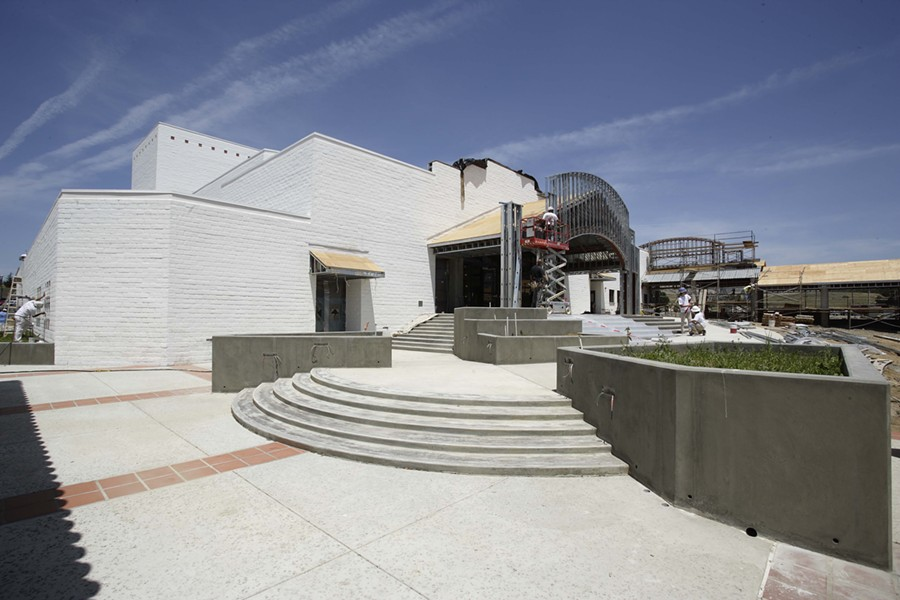 PERFORMANCE SPACE :  The new Cultural Center for the Performing Arts is scheduled to open this fall, providing shared space for Cuesta's music and drama departments for the first time. - PHOTO BY STEVE E. MILLER