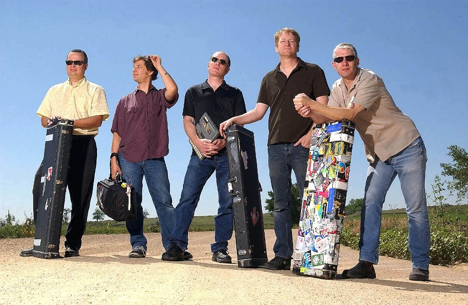 CAMPOUT WITH CAMPER :  The sheer genius of Camper Van Beethoven will be on display at Downtown Brew on June 25. - PHOTO COURTESY OF CAMPER VAN BEETHOVEN