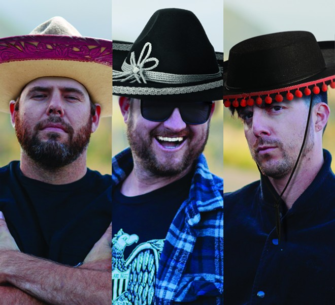 AY CARAMBA!:  Makeover, the '80s cover act extraordinaire, plays SLO Brew on Drinko de Mayo (May 5, natch!) under the aegis of Good Medicine Presents. Salute! - PHOTO COURTESY OF MAKEOVER