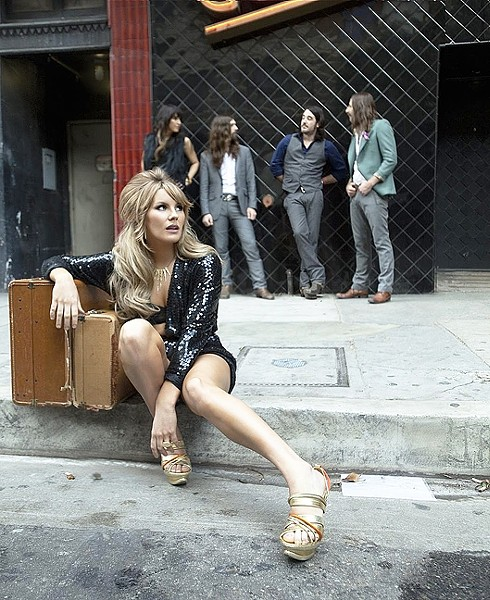 VOX DELUXE:  Grace Potter brings  her huge voice to Vina Robles Amphitheatre on Aug. 12. - PHOTO COURTESY OF GRACE POTTER