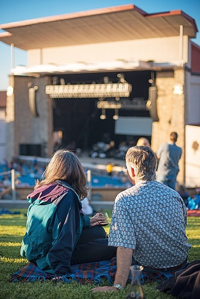 SUMMER GRUBBIN':  At Vina Robles Amphitheatre, live entertainment blends with local food and killer wine. - PHOTO COURTESY OF VINA ROBLES AMPTHEATRE