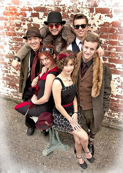 ALL GROWN UP:  Several members of Red Skunk have been beneficiaries of scholarships funded by Jubilee by the Sea, and now they're back to play the four-day event, Oct. 22 through 25. - PHOTO COURTESY OF RED SKUNK