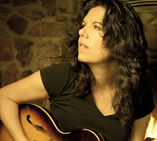 LOOK, SHARP! :  Acclaimed singer-songwriter, multi-instrumentalist, and producer Maia Sharp just finished a run of shows with Bonnie Raitt, and now she's coming to Sculpterra Winery on June 9. - PHOTO COURTESY OF MAIA SHARP