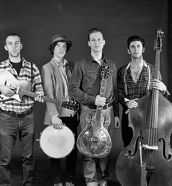 USA! :  The Americans play the Red Barn Community Music Series on Oct. 3, bringing their retro-future Americana music. - PHOTO COURTESY OF THE AMERCIANS