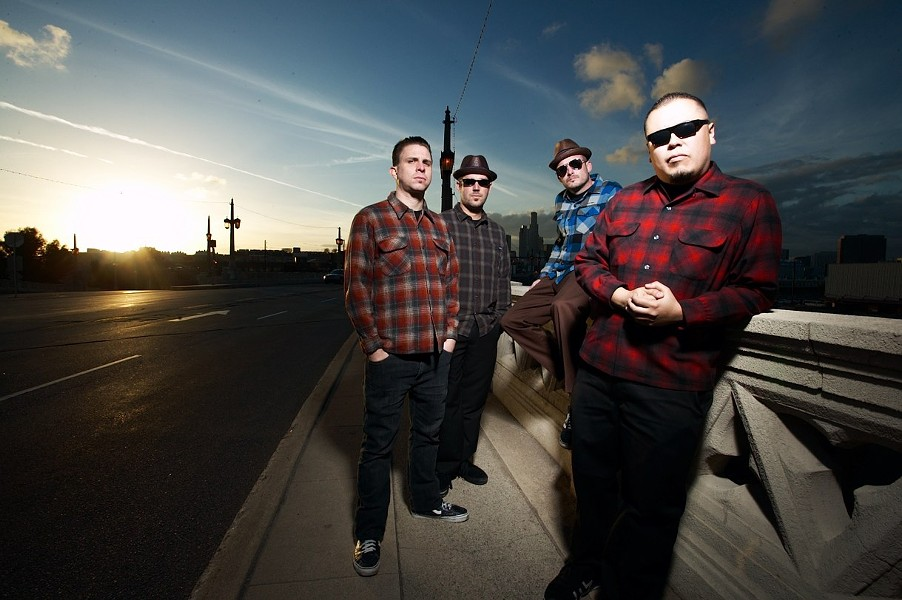 DIRTY REGGAE:  Super fun ska and reggae act The Aggrolites play SLO Brew on Dec. 18. - PHOTO COURTESY OF THE AGGROLITES