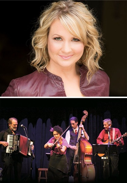 COLLABORATORS!:  Café Musique will be joined by Broadway and opera star Sarah Kleeman on Sept. 5, at SLO's Unitarian Universalist Fellowship. - PHOTOS COURTESY OF CAFÉ MUSIQUE AND SARAH KLEEMAN
