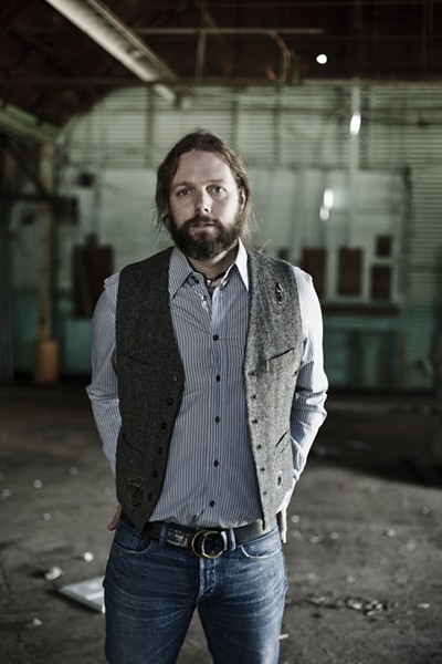 STILL THERE :  Despite some personal setbacks, Black Crowes guitarist Rich Robinson has returned with a terrific new solo album and a show on Nov. 16 at SLO Brew. - PHOTO BY JOSHUA BLACK WILKINS