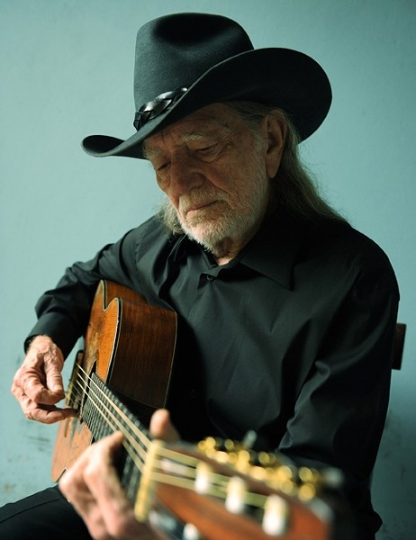 ICON:  Willie Nelson plays April 8 at the SLO PAC. - PHOTO BY DAVID MCCLISTER