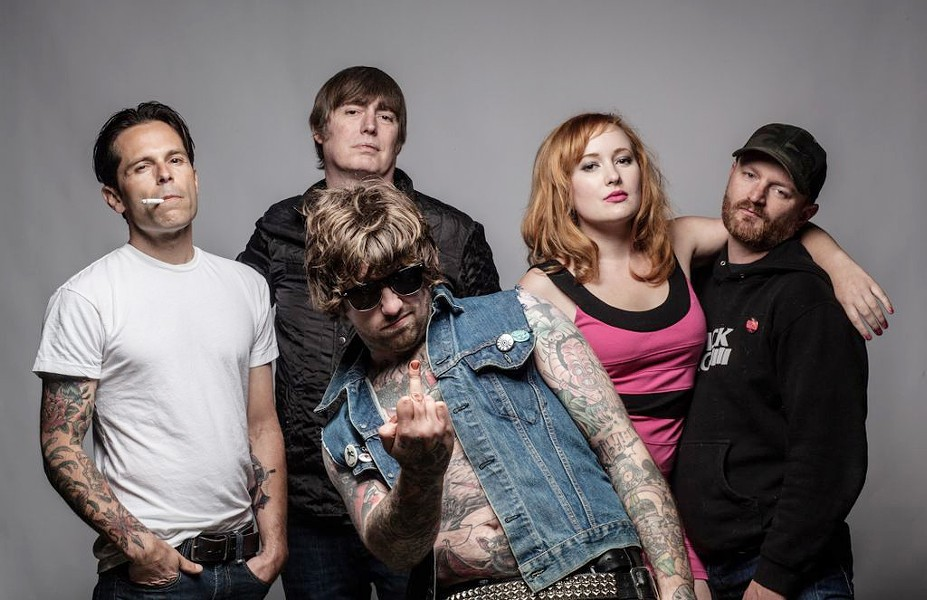 MORE PUNK THAN YOU:  Magazine Dirty is another band playing Twang N Bang IX at Frog and Peach on Aug. 31. - PHOTO COURTESY OF MAGAZINE DIRTY