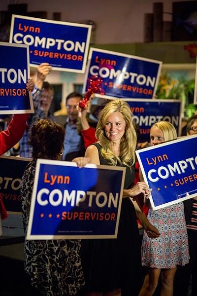 Lynn Compton. - PHOTO BY HENRY BRUINGTON
