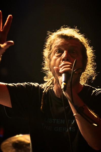 THE ORIGINAL!:  Keith Morris, the original Black Flag singer, hits SLO Brew on Aug. 22 with FLAG, filled with other Black Flag members. - PHOTO COURTESY OF KEITH MORRIS