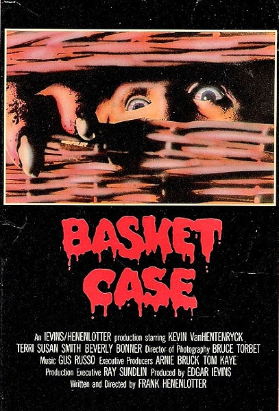 BLOOD N' BASKETS :  'Basket Case' is a cult classic that any fan of horror needs to watch. - PHOTO COURTESY OF ANALYSIS FILM RELEASING CORPORATION