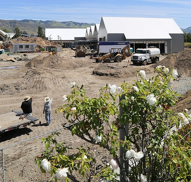 ROCK OUT, BUT STAY OFF THE ROCK:  The SLO City Council approved live music for The Rock music venue proposed by SLO Brew. - PHOTO BY DYLAN HONEA-BAUMANN